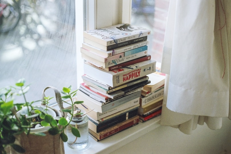 books as a mantra for concentration